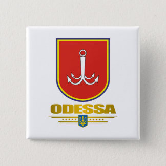 """""""オデッサCOA""""ボタン 5.1CM 正方形バッジ"""