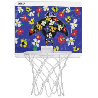 オニイトマキエイの芸術 ミニバスケットボールネット
