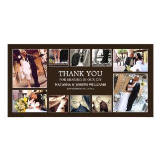 オニックスのコラージュ%PIPE%の結婚のサンキューカード カード