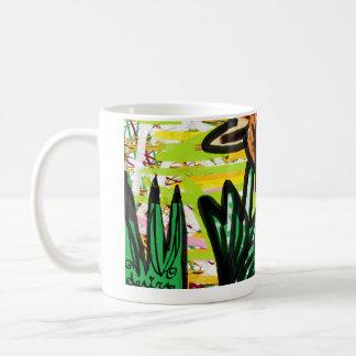オニユリおよびかたつむりの生命 コーヒーマグカップ