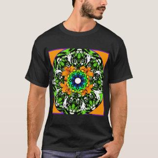 オニユリの曼荼羅のTシャツ Tシャツ
