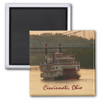 オハイオ川の舟 マグネット