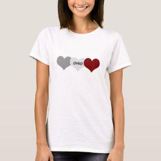 オハイオ州のハート Tシャツ