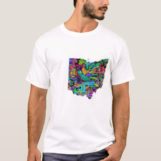 オハイオ州のワイシャツ-選挙または他のカスタム Tシャツ