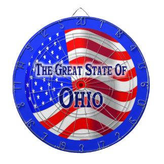 オハイオ州の州のダート盤 ダーツボード