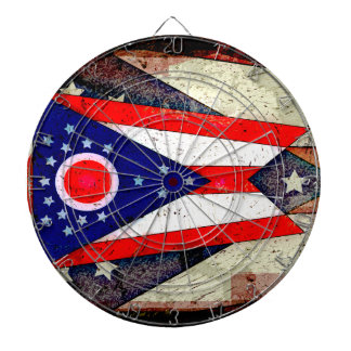 オハイオ州の旗 ダーツボード