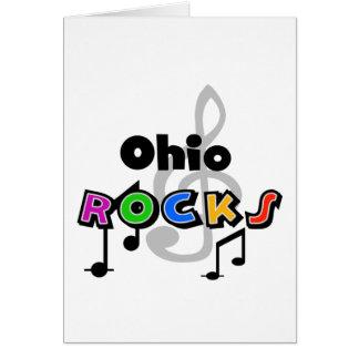 オハイオ州の石 カード