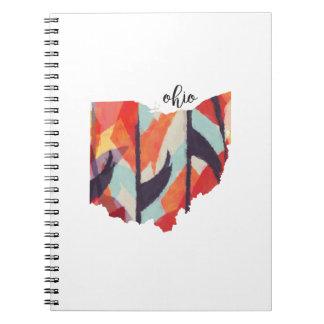オハイオ州の種族のデザインのノート ノートブック