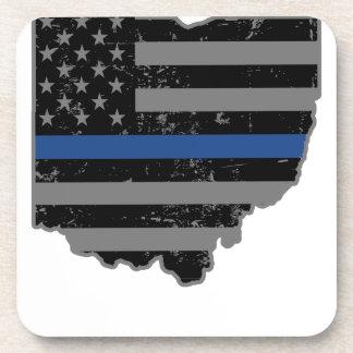 オハイオ州の警察及び法の執行の薄いブルーライン コースター