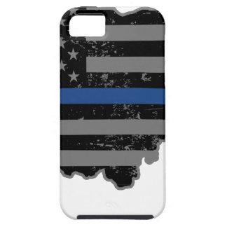 オハイオ州の警察及び法の執行の薄いブルーライン iPhone SE/5/5s ケース