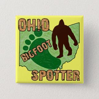 オハイオ州ビッグフットの監視人 5.1CM 正方形バッジ