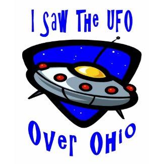 オハイオ州上のUFO shirt
