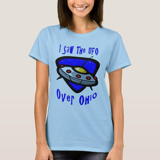 オハイオ州上のUFO Tシャツ
