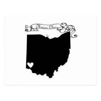 オハイオ州石大工 ポストカード