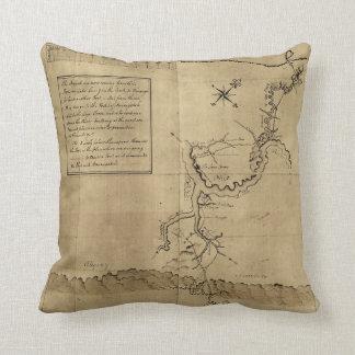 オハイオ州1754年へのジョージ・ワシントンのジャーナル クッション