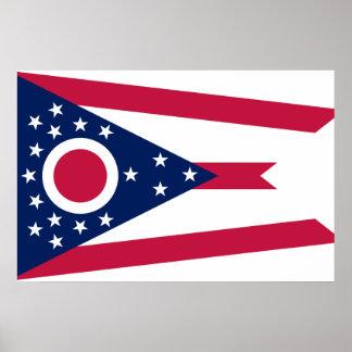 オハイオ州、米国 ポスター