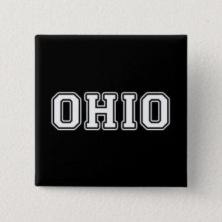 オハイオ州 5.1CM 正方形バッジ