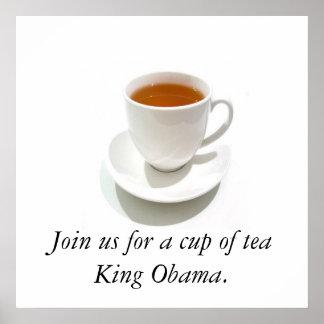 オバマのお茶会 ポスター