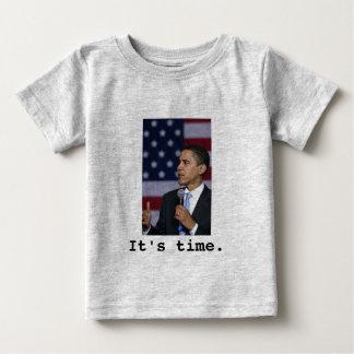 オバマのそれは時間です ベビーTシャツ