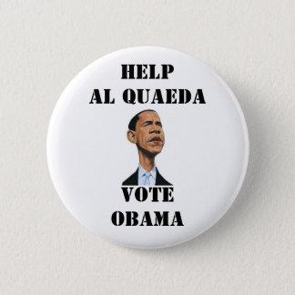 オバマのために投票しないで下さい 5.7CM 丸型バッジ