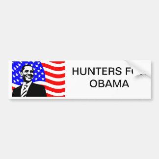 オバマのためのハンター バンパーステッカー