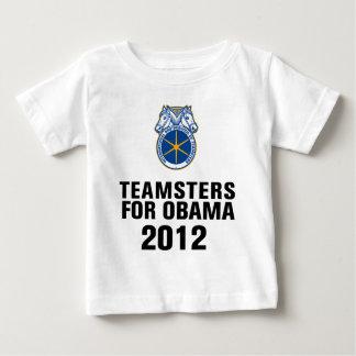オバマのための一連の馬の御者 ベビーTシャツ