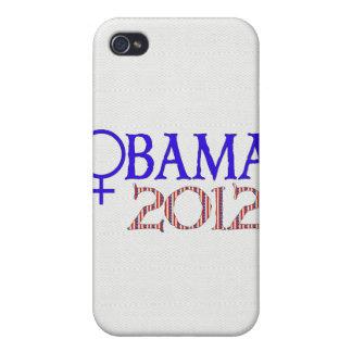 オバマのための女性 iPhone 4 COVER