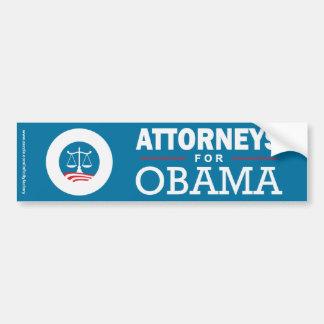オバマのための弁護士 バンパーステッカー
