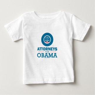 オバマのための弁護士 ベビーTシャツ