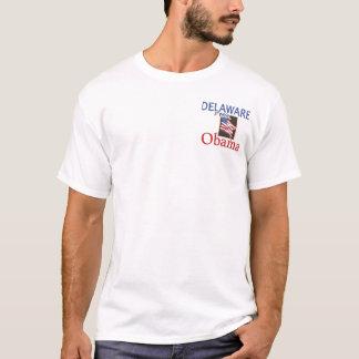 オバマのための選挙デラウェア州 Tシャツ