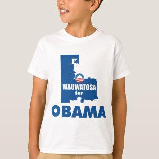 オバマのためのWauwatosa Tシャツ