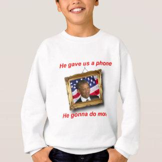 オバマのまばたき スウェットシャツ