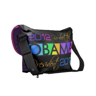 オバマのカラフルな2012年のメッセンジャーバッグ メッセンジャーバッグ
