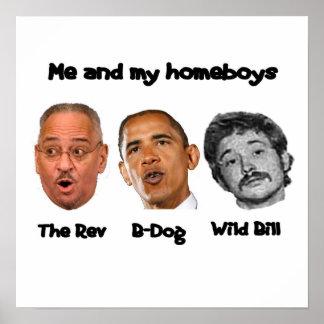 オバマのキャビネット ポスター