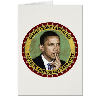 オバマのクロニー資本主義 カード