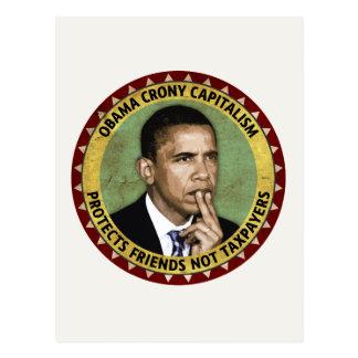 オバマのクロニー資本主義 ポストカード