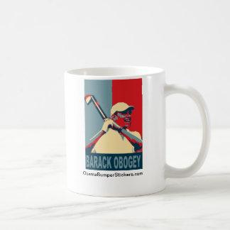 """オバマのゴルフマグ""""バラクObogey """" コーヒーマグカップ"""