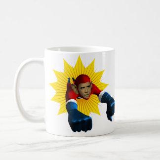 オバマのスターバスト コーヒーマグカップ