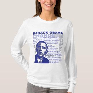 オバマのスピーチ Tシャツ