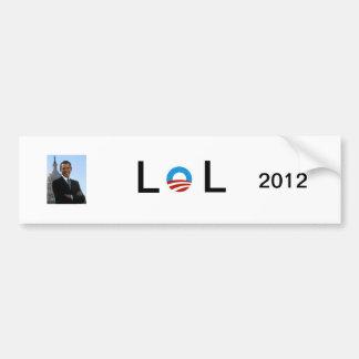 オバマのテキストメッセージ2012年 バンパーステッカー