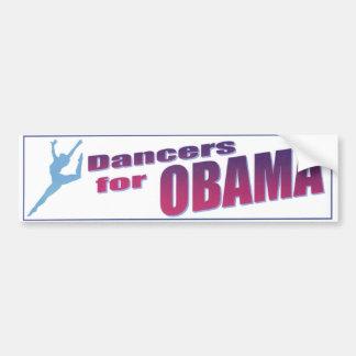 オバマのバンパーステッカーのためのダンサー バンパーステッカー
