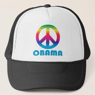 オバマのピースサイン2 キャップ