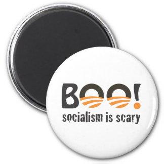 オバマのブーイング! 社会主義は恐いです マグネット