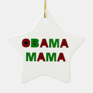 オバマのママHoliday Ornament セラミックオーナメント