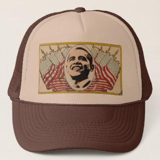 オバマのレトロの旗の帽子 キャップ