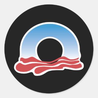 オバマのロゴ2012年 ラウンドシール