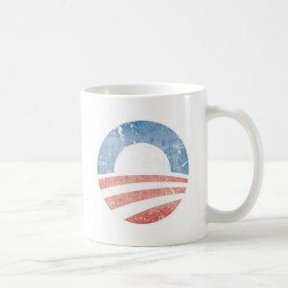 オバマのロゴ コーヒーマグカップ