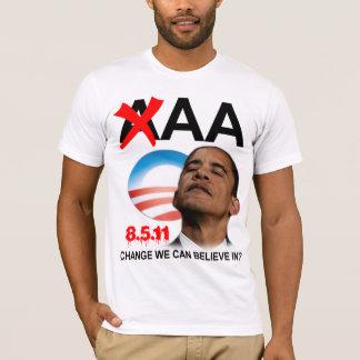 オバマの信用格付け-オウム Tシャツ