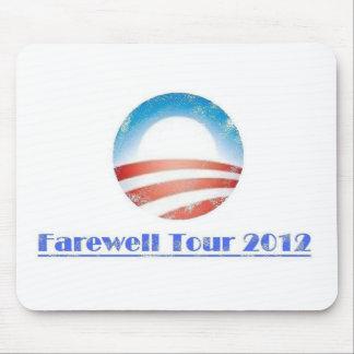 オバマの別れの旅行2012年 マウスパッド
