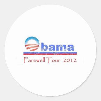 オバマの別れの旅行2012年 ラウンドシール